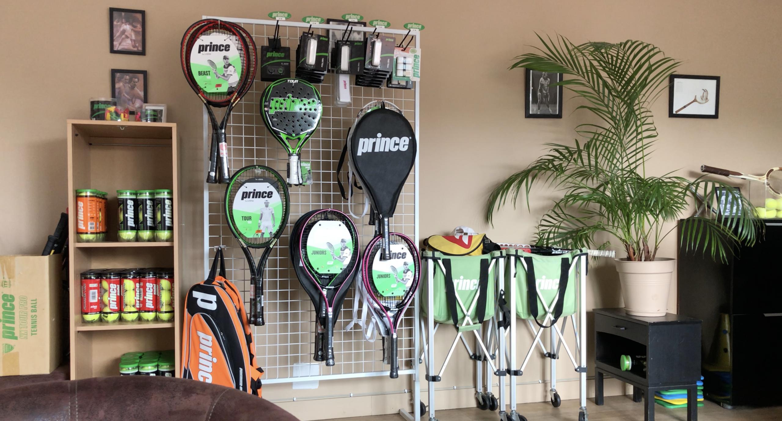 Corner Prince - Tennis Padel Club La Roseraie