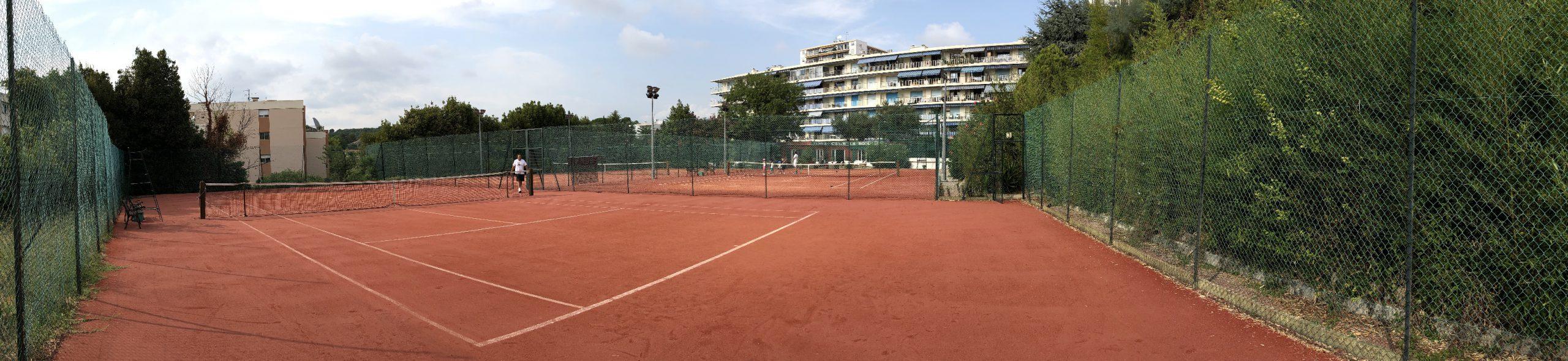 Court tennis club La Roseraie